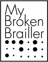 My Broken Brailler logo